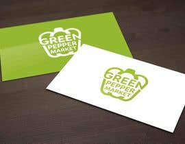 #96 for Design Green Pepper Market Logo by notaly