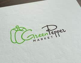 BBdesignstudio tarafından Design Green Pepper Market Logo için no 119