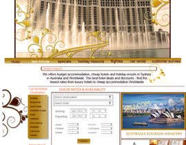 #56 for Website Design for Hotels and Resorts by Rama4art