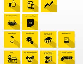 #20 cho Design some Icons for features of a coupon service bởi OnClickpp