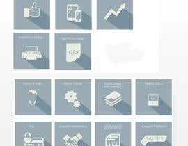 #21 cho Design some Icons for features of a coupon service bởi OnClickpp