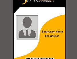 #17 for Employee Identity card design. af IulianArama