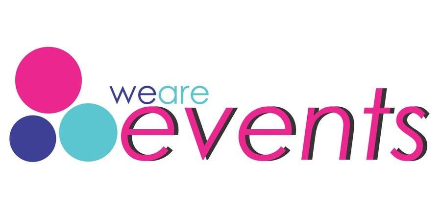 WE ARE EVENTS için 149 numaralı Yarışma Girdisi