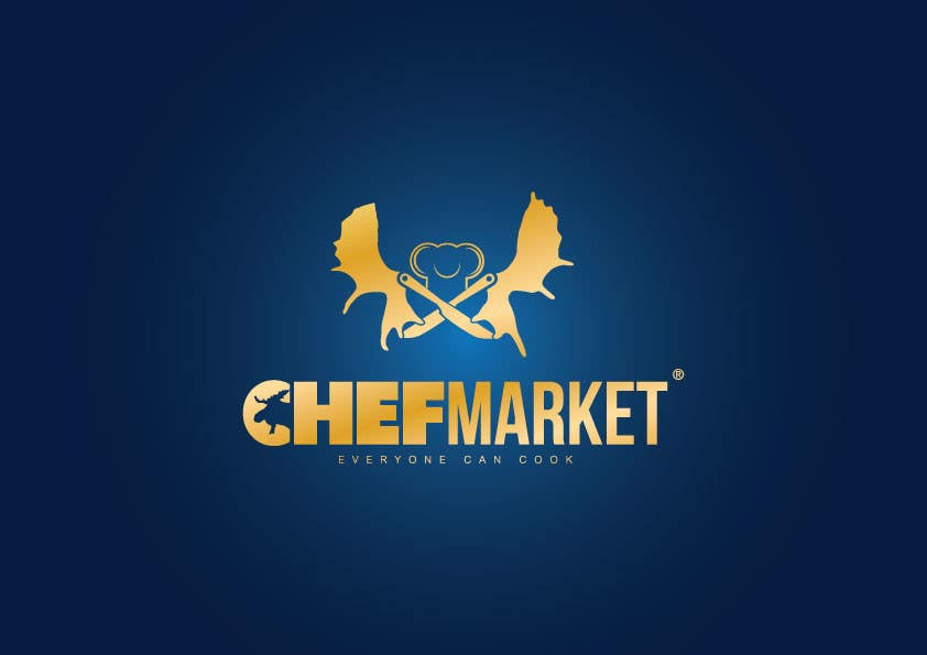 Bài tham dự cuộc thi #73 cho Design a logo for CHEFMARKET in Sweden