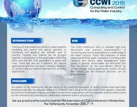 Nro 20 kilpailuun Design a conference brochure / flyer / folder käyttäjältä abhimanyu3