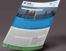 Nro 12 kilpailuun Design a conference brochure / flyer / folder käyttäjältä CreativeShaikul