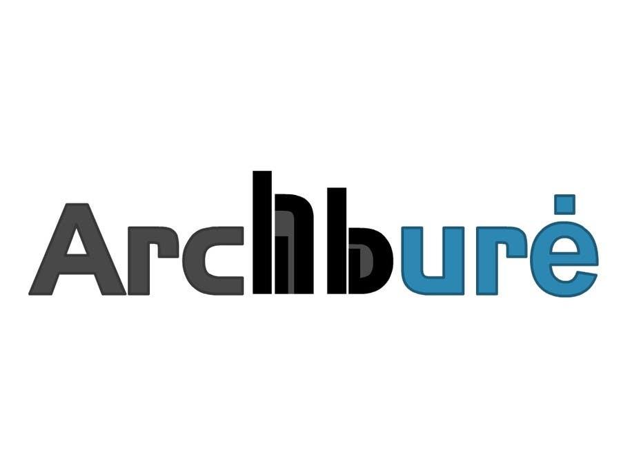 Kilpailutyö #4 kilpailussa Design a Logo for architecture company