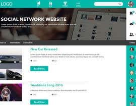 Nro 3 kilpailuun Design a Website Mockup käyttäjältä saepulgranz
