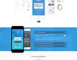 Nro 8 kilpailuun Design a Website Mockup käyttäjältä mazcrwe7