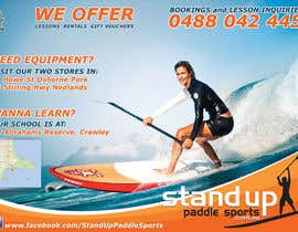 nº 49 pour Design a Flyer for a Stand Up Paddle School par ivegotlost