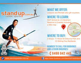 nº 37 pour Design a Flyer for a Stand Up Paddle School par iTechnoVista
