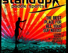 nº 26 pour Design a Flyer for a Stand Up Paddle School par sallmeyer