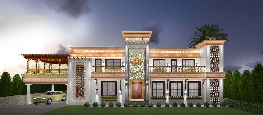 Entry 4 By Roysouvik90 For Design Concept For A Two Storey House In