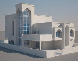 Nro 16 kilpailuun Design Concept for a two-storey House in Saudi Arabia (Floor plan, Elevations, 3D rendering) käyttäjältä jimdsouza1