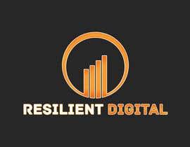 Nro 27 kilpailuun Refreshed logo design for resilient digital käyttäjältä UnstableEntropy