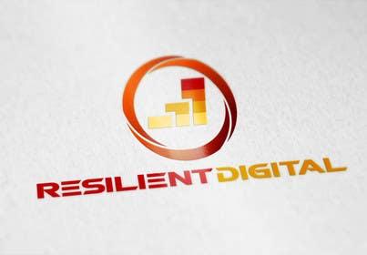 desingtac tarafından Refreshed logo design for resilient digital için no 16