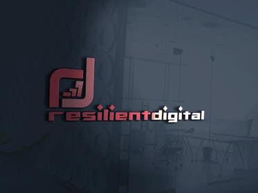 desingtac tarafından Refreshed logo design for resilient digital için no 33