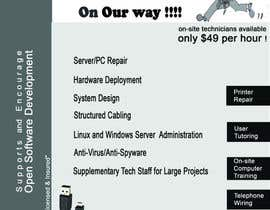 #5 untuk Flyer Design for Tech Services Division oleh vishmith