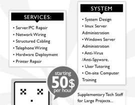 #31 untuk Flyer Design for Tech Services Division oleh miklahq