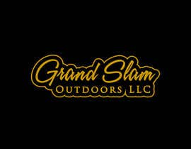 "shaikhdsgns tarafından Unique font design for company name ""Grand Slam Outdoors LLC"" için no 45"