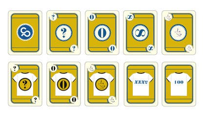 crazenators tarafından I need some Graphic Design for Planning Poker Cards (AI, PSD, EPS, PDF, PNG) için no 86