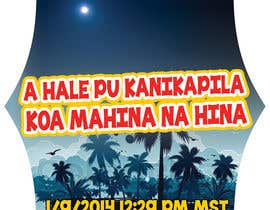 nº 15 pour I need some Graphic Design for a Hawaiian Style Automobile Window Decal par IllusionG
