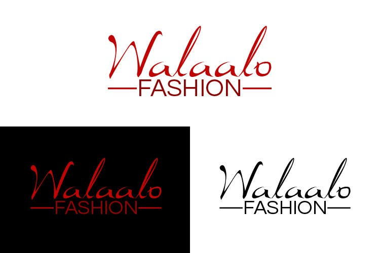 Proposition n°37 du concours branding for walaalo fashion