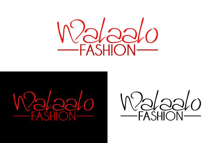 Proposition n°38 du concours branding for walaalo fashion