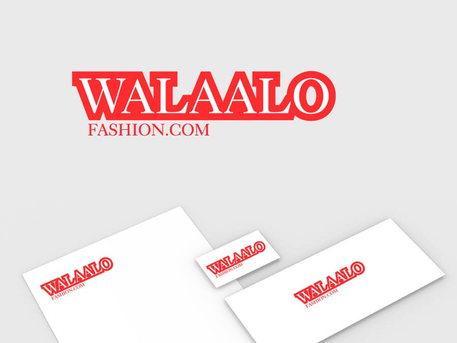 Proposition n°21 du concours branding for walaalo fashion