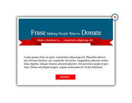 #1 for 30USD: Create a front-page popup banner for a nonprofit by tommyguzman