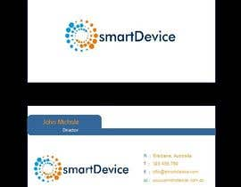 #29 para Design some Business Cards for smartDevice por mogharitesh