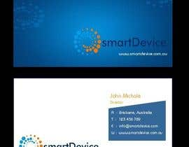 #30 para Design some Business Cards for smartDevice por mogharitesh