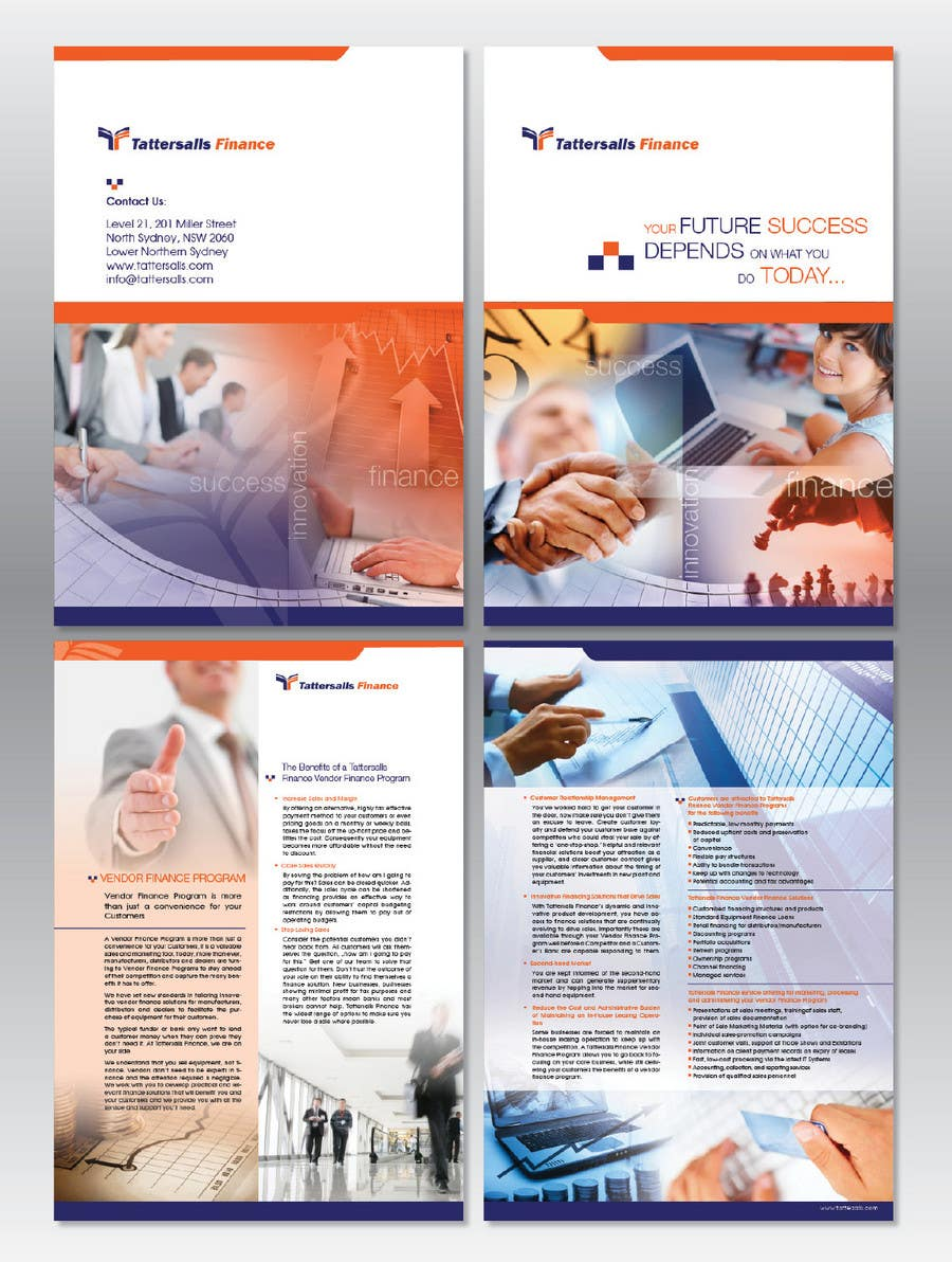 Kilpailutyö #38 kilpailussa Brochure Design for Finance HQ