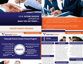 nº 73 pour Brochure Design for Finance HQ par creationz2011