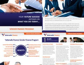 #66 para Brochure Design for Finance HQ por creationz2011