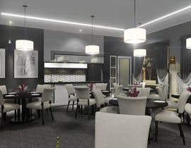 #51 for 3d Rendering Hotel suite +Hotel restaurant by zeldom