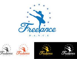 #217 para Design a Logo for Freelance Dance por Vasudev007