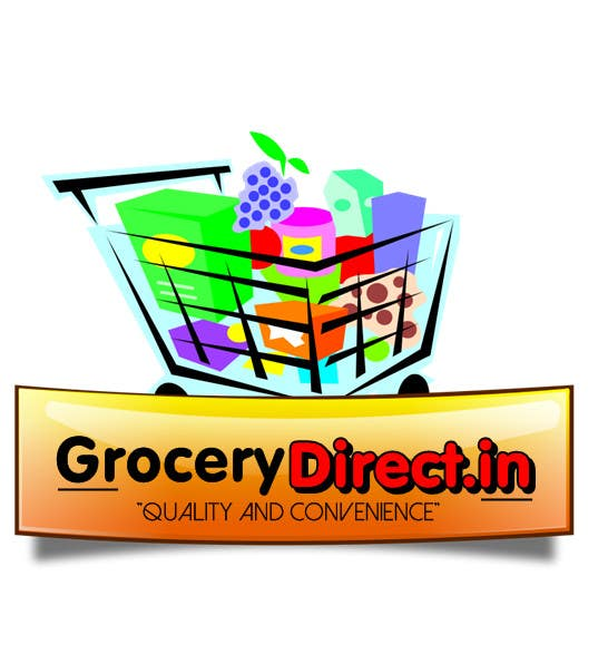 Contest Entry #                                        21                                      for                                         Design a Logo for Online Grocery Store