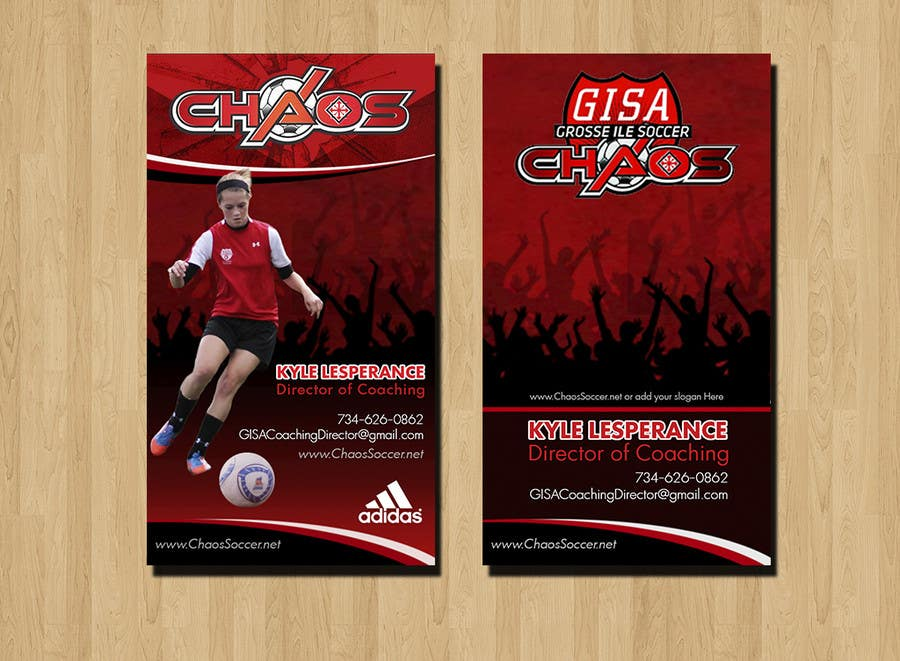 Proposition n°11 du concours (6) Business Card Designs needed for Youth Soccer Team