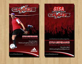 RERTHUSI tarafından (6) Business Card Designs needed for Youth Soccer Team için no 19