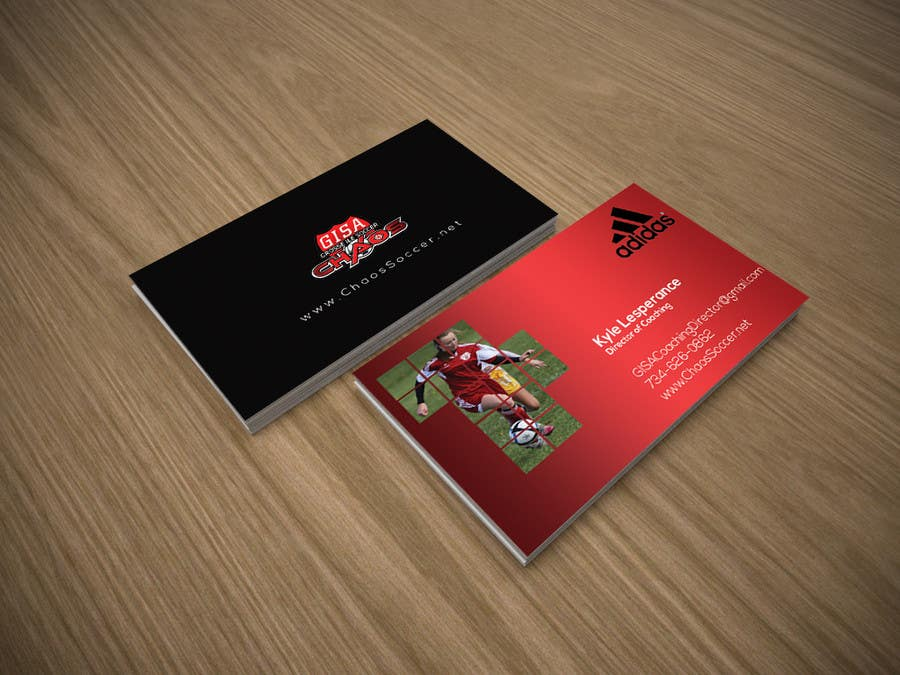 Entry #4 by pixelbd for (6) Business Card Designs needed for Youth ...