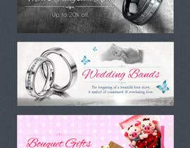 #18 for Design 3 Banners for a gifts & jewellery website af VrushaliSingh