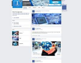 ELDJ7 tarafından Design a Facebook landing page için no 1