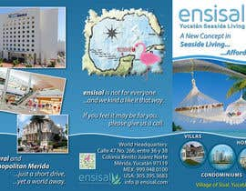 #7 for Design a Brochure for ENSISAL (trifold) by Kusmin