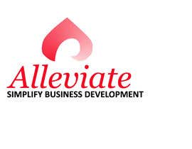 #55 for Design a Logo for a new start up company called alleviate af marfyt