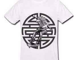 Nro 13 kilpailuun Design an Aztec Skateboard T-Shirt käyttäjältä tetsupogi08