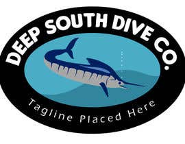alviolette tarafından Design a Logo incl. a fish - Deep South Dive Co. için no 40