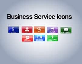 Nro 8 kilpailuun Design Business Service Icons käyttäjältä ninaekv