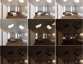 reem1794 tarafından Improve upon my current 3D design of a room interior için no 2