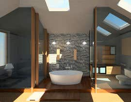 reem1794 tarafından Improve upon my current 3D design of a room interior için no 4